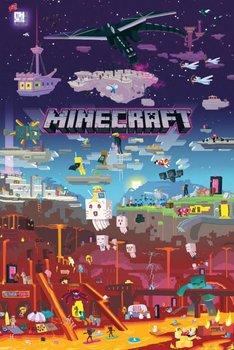 Minecraft World Beyond - plakat z gry 61x91,5 cm-GBeye