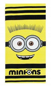 Minionki, Ręcznik bawełniany, duży, 70x140 cm-Minionki