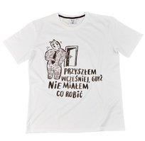 Miś, Koszulka męska, Przyszłem, L