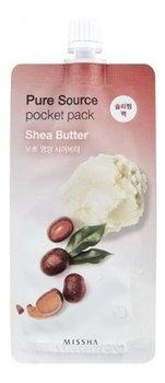 Missha, Pure Source, maseczka na noc z ekstraktem z masła shea, 10 ml-Missha