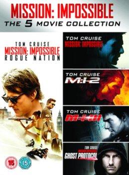 Mission: Impossible 1-5 (brak polskiej wersji językowej)-Bird Brad, McQuarrie Christopher, Palma Brian De, Woo John, Abrams J.J.
