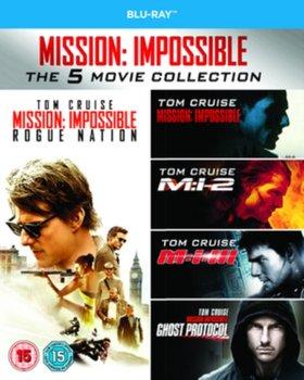 Mission: Impossible 1-5 (brak polskiej wersji językowej)-Palma Brian De, Bird Brad, Woo John, Abrams J.J., McQuarrie Christopher