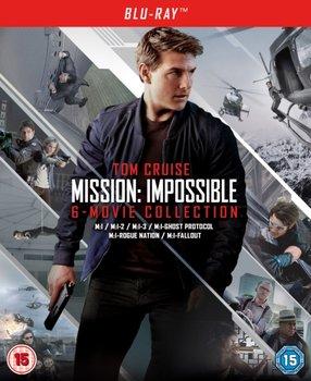 Mission: Impossible - The 6-movie Collection (brak polskiej wersji językowej)-McQuarrie Christopher, Palma Brian De, Woo John, Abrams J.J., Bird Brad