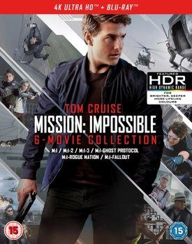 Mission: Impossible - The 6-movie Collection (brak polskiej wersji językowej)-Bird Brad, Abrams J.J., Woo John, Palma Brian De, McQuarrie Christopher