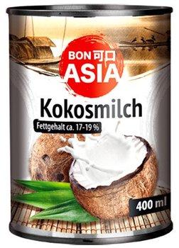 Mleko kokosowe (82% wyciągu z kokosa) w puszce 400ml - BonAsia-BONASIA