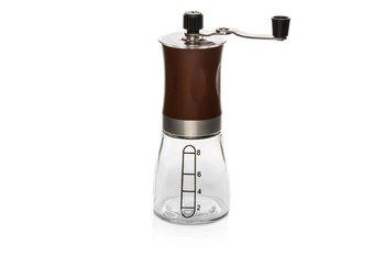 Młynek ręczny do kawy oraz przypraw FILUX, brązowy-Filux