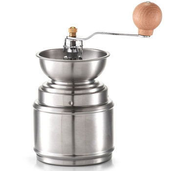 Młynek ręczny do kawy ziarnistej ZELLER, srebrna-Zeller