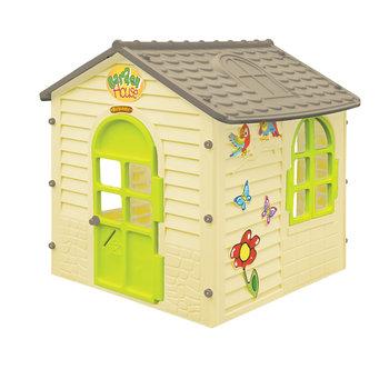 Mochtoys, domek ogrodowy dla dzieci z otwieranymi oknami-Mochtoys