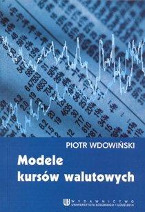Modele kursów walutowych                      (ebook)