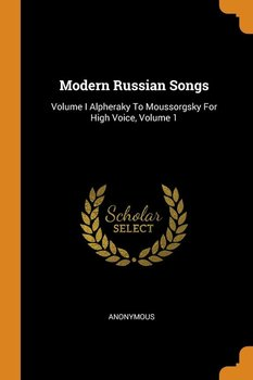 Modern Russian Songs - Anonymous