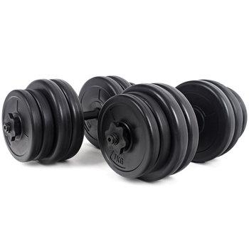 Modernhome, Hantle, czarny, 2x15 kg-ModernHome