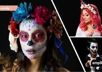 Modny makijaż na imprezę Halloween - pięć najlepszych pomysłów