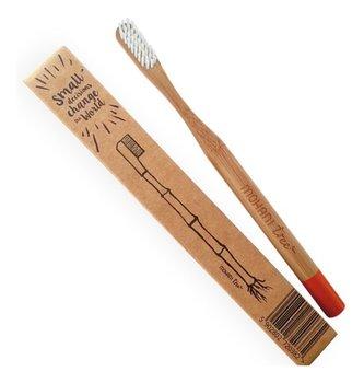 Mohani, bambusowa szczoteczka do zębów włosie miękkie, 1 szt.-MOHANI