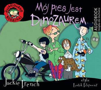 Mój pies jest dinozaurem. Zwariowane rodzinki-French Jackie
