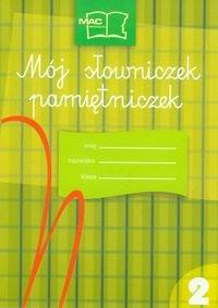 Mój słowniczek-pamiętniczek 2-Zbróg Zuzanna