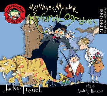 Mój wujek Mundek, krasnal ogrodowy. Zwariowane rodzinki-French Jackie