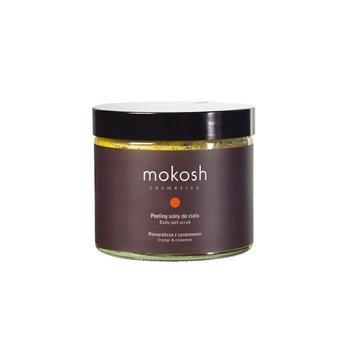 Mokosh, Body Salt Scrub Orange & Cinnamon, peeling solny do ciała Pomarańcza z Cynamonem, 300 g-Mokosh