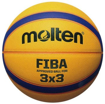 Molten, Piłka do koszykówki, Fiba outdoor 3x3 streetball, żółty, rozmiar 6-Molten