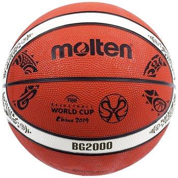 Molten, Piłka koszykowa, World Cup Chiny 2019 replika, pomarańczowy-Molten