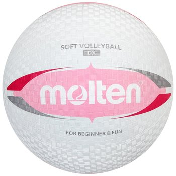 Molten, Piłka siatkowa, biały, rozmiar 5-Molten