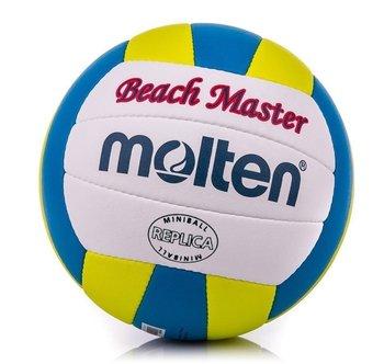 Molten, Piłka siatkowa, Mini Beach Master V1B300-CY, biało-niebieski, rozmiar 1-Molten