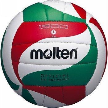 Molten, Piłka siatkowa, V4M1900, biało-zielona, rozmiar uniwersalny-Molten