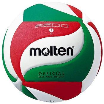 Molten, Piłka siatkowa, V5 2200, biały, rozmiar 5-Molten