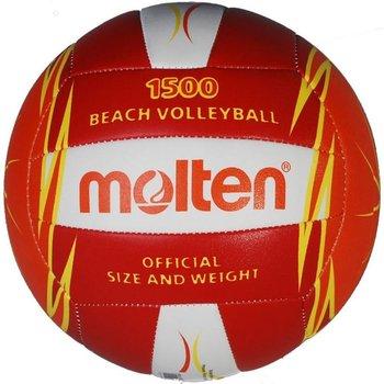 Molten, Piłka siatkowa, V5B1500-RO, czerwona, rozmiar uniwersalny-Molten
