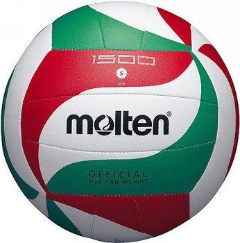 Molten, Piłka siatkowa, V5M 1500, zielono - czerwony, rozmiar 5-Molten