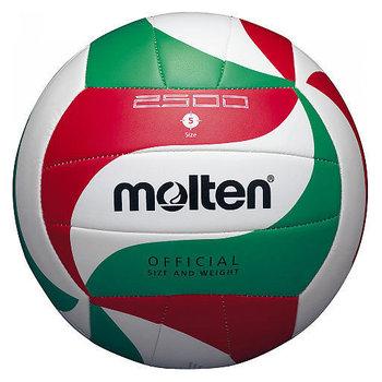 Molten, Piłka siatkowa, V5M2500, biało-zielony, rozmiar uniwersalny-Molten