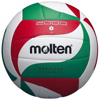 Molten, Piłka, V5M 2000, biało-zielony, rozmiar 5-Molten