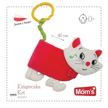 Mom's Care, miękka książeczka Kot, szeleścik-Mom's Care