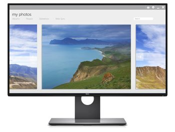 """Monitor DELL InfinityEdge U2717D, 27"""", IPS, 8 ms, 16:9, 2560x1440-Dell"""