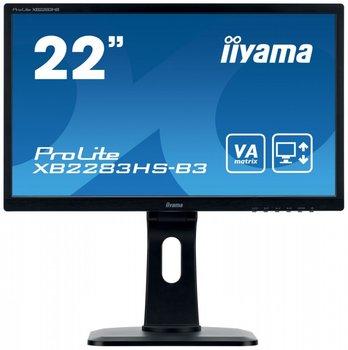 """Monitor IIYAMA XB2283HS-B3, 21.5"""", VA, 4 ms, 16:9, 1920x1080-IIYAMA"""