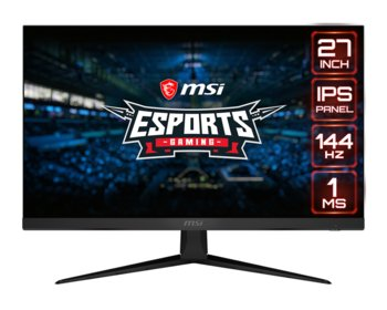 "Monitor MSI Optix G271, 27"", IPS, 1 ms, 16:9, 1920x1080 - MSI"