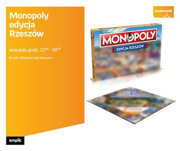 Monopoly - edycja Rzeszów   Empik Millenium Hall