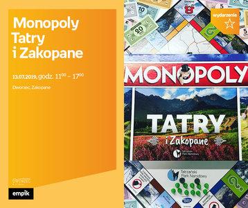 Monopoly Tatry i Zakopane | Dworzec Zakopane