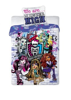 Monster High, Komplet pościeli, 160x200 cm-Faro