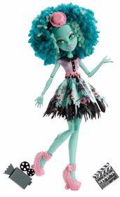 Monster High, Strach, kamera, akcja!, lalka Honey Swamp-Monster High