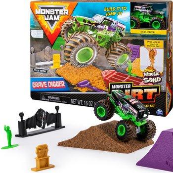 Monster Jam, arena z autkiem Grave Digger, zestaw