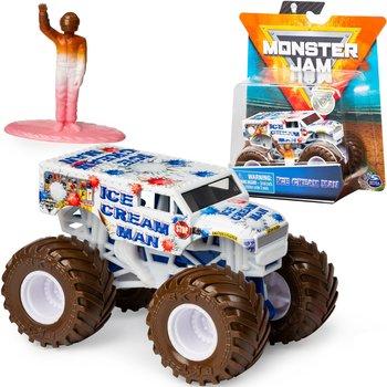 Monster Jam, pojazd z figurką Ciężarówka Ice Cream Man-Monster Jam