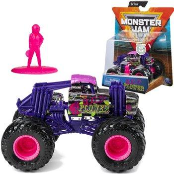 Monster Jam, pojazd z figurką Ciężarówka Wild Flower-Monster Jam
