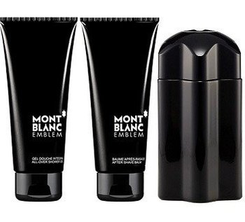 Mont Blanc, Emblem, zestaw kosmetyków, 3 szt.-Mont Blanc