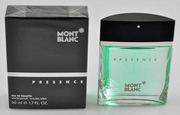 Mont Blanc, Presence Man, woda toaletowa, 50 ml-Mont Blanc