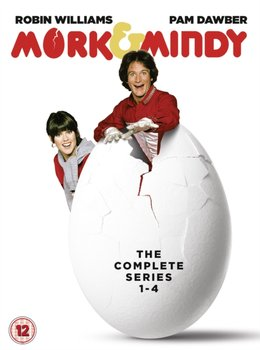 Mork and Mindy: The Complete Series 1-4 (brak polskiej wersji językowej)-Glauberg Joe, Marshall Garry, McRaven Dale, Marshall Anthony W.