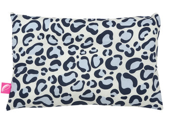 Motherhood, Płaska poduszka, Ocelot niebieski, 45x30 cm-Motherhood