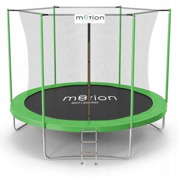 Motion, trampolina ogrodowa, 305 cm, 10 FT z siatką wewnętrzną i drabinką-JUMI