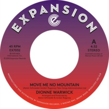 Move Me No Mountain / (I'm) Just Being Myself-Warwick Dionne