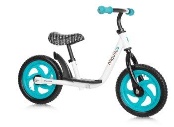 Movino, rowerek biegowy Spark, biało-niebieski