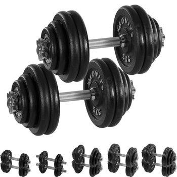 Movit, Zestaw hantli, 2x30 kg, czarny-Movit